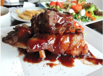 Easy Cooked Sweet Bbq Ribs